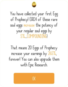 Prophecy Popup