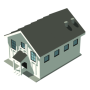 Ei hab icon short house