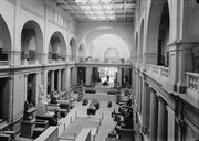 Egyptian Museum Interior from Matson Collection, 1934 (LOC)