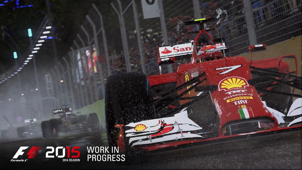 F1 2015 announce screen 5