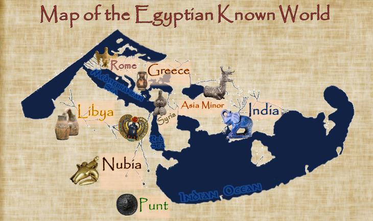 Ancient Egyptian World Map | Ancient Egypt Wiki | FANDOM ...