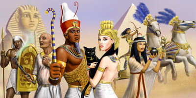 Egyptian depictions