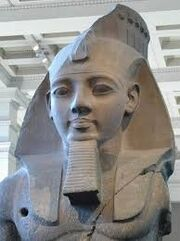 "Statue of Ramesses II ""The great""."