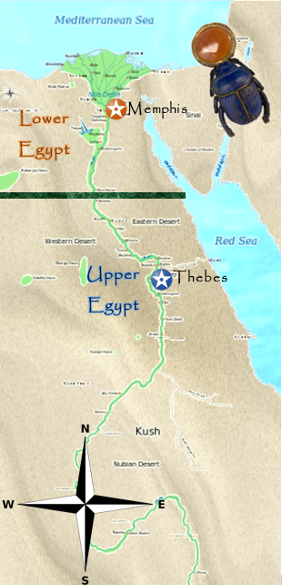 Upper And Lower Egypt Map Upper and Lower Egypt | Ancient Egypt Wiki | Fandom