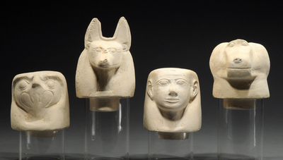 Canopic jar lids