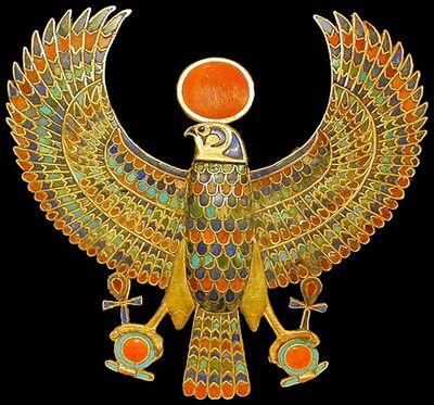 Tutankhamun Falcon1 (retouched)