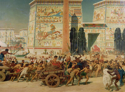 Wagons-detail-from-egypt-sir-edward-john-poynter