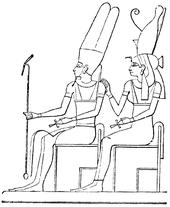 Amon och Mut, Nordisk familjebok