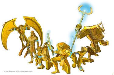 Egyxos Golden Army 01