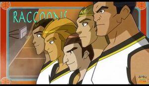 Egyxos racoons team 001