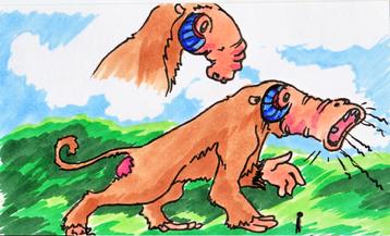 Halciet sketch card