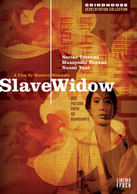 Slave Widow US DVD