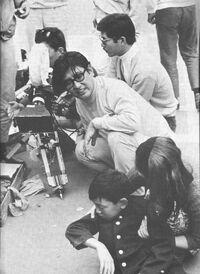 Oshima directing Boy