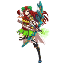 0036 Wind Archer Haya