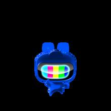 127 Blue Color Man