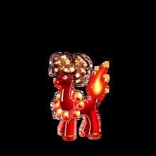 0186 Flame Alpaca