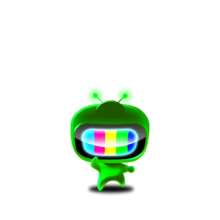 128 Green Color Man-0