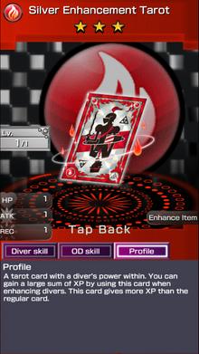 0206 Silver Enhancement Tarot