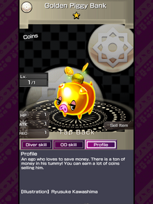 249 Golden Piggy Bank (2)