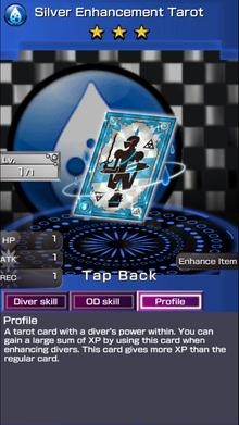 0207 Silver Enhancement Tarot