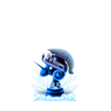 0195 Water Chess Piece