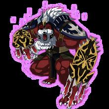 0042 Fire Wolf Knight Rob
