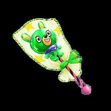 9008 Green Bear Lollipop
