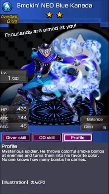 0019 Smokin' NEO Blue Kaneda (2)