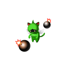 140 Green Bomber Cat