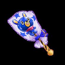 9002 Blue Bear Lollipop
