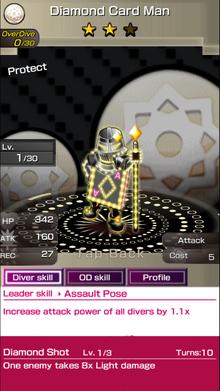 0153 Diamond Card Man