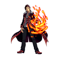0010 Burning Knuckle Shogo