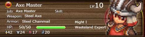 Axe Master 10