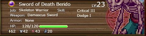 Sword of Death Berido 23