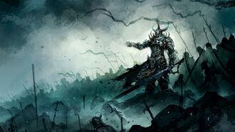 20856 fantasy demon knight beast demon knight