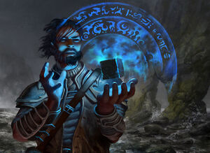 850x621 983 Sea Gate Oracle 2d fantasy spell magic wizard picture image digital art