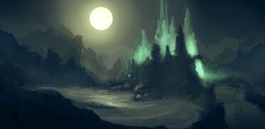 Evil mountain by erioca