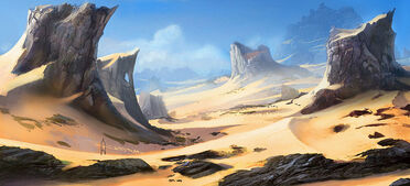 Fortress world map desert 0