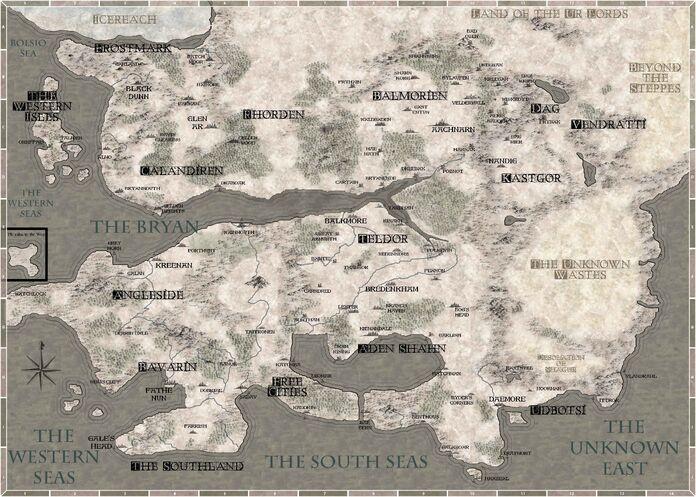 The World of Eirethune