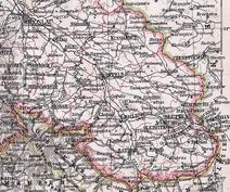 Oberschlesien-Karte 1905