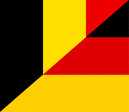 Datei:Flag of Belgium and Germany.png