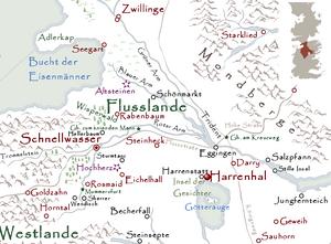 Harrenhal Karte