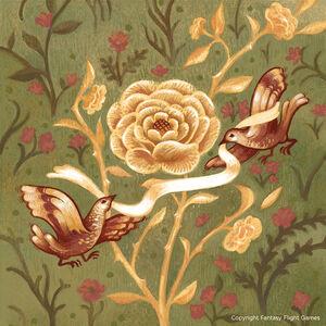 Eine Rose aus Gold Serena Malyon