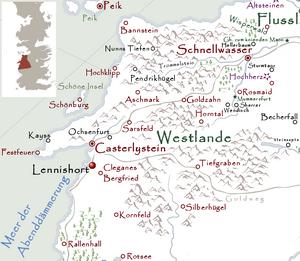 Lennishort Karte