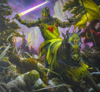 Stannis Schlacht an der Mauer Donato Giancola Bantam Kalender2015