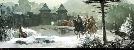 Robert Eddard Winterfell TomaszJedruszek