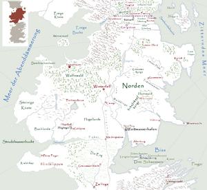 Tiefwald Motte Karte