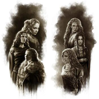 Ehefrauen Maegor I. Magali VilleneuveDWVEUF