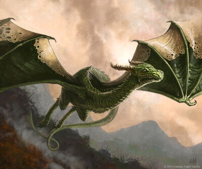 Rhaegal1 ChristopherBurdett