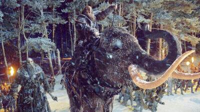 Riesen Mammut